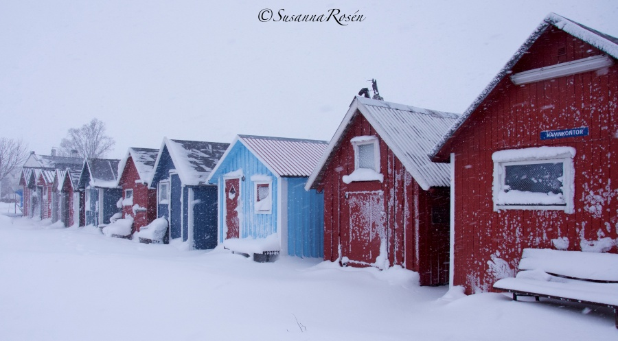 fishing huts ©
